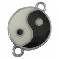 Verbinder Yin Yang. 28x20x2mm