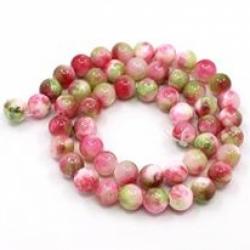 Persische Jade Perlen, gefärbt, Lightc..