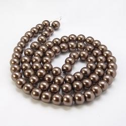 1 Strang Glas Perlen 10 mm, Loch: 1 mm,