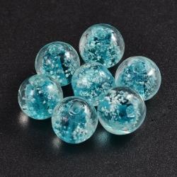 Nachtleuchtender Glasperlen, hellblau ..