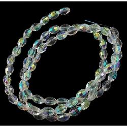 Galvanisieren Glasperlen, ab Farbe ova..