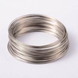 MemoryWire, Stahl, Platin Farbe, 65 mm..