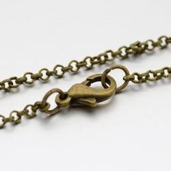 Kreuz-Halskette, mit Alu-Karabiner, An..