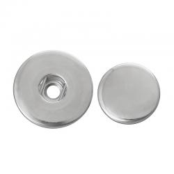 Aluminium Aufbahme für Druckknopf 19mm,