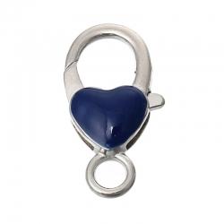 Zinklegierung Karabinerverschluss Herz..