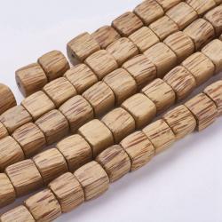 Natürliche Kokosnuss Holzperlen Würfel..