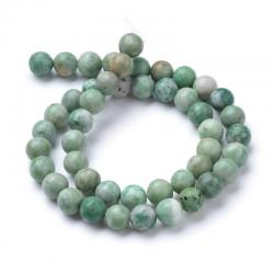 Strang Natur Qinghai Jade Perlen Strän..