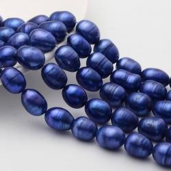 5 stk Klasse b Perlen, poliert, dunkel..