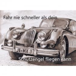 Engelkärtchen Auto ( ca Visitenkarteng..