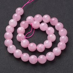 Natürliche Rosenquarz Perlen, 8 mm, Lo..