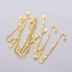 Lesezeichen, golden, 79,5x15,5x2 mm, B..