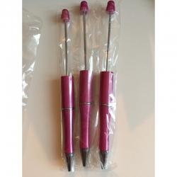 Perlenkugelschreiber pink