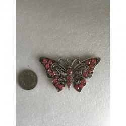 Schmetterling gross rosa