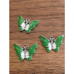 Schmetterling grün 22x32x2mm
