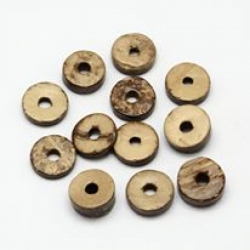 10 stk Kokosdonut 9x5mm