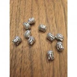 Buddhakopf Perle 10.5x9mm, bohrung 2mm