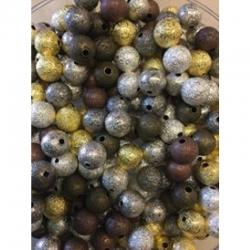 10 stk Stardust perlen 10mm, bohrung 2mm