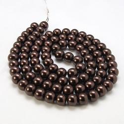 1 Strang Glaswachs-Perlen, 14 mm Bohrung 1 mm,
