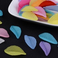 10 stk Transparente Acryl-Blätter, 36x18x2 mm, Bohrung: 1 mm