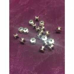 10 stk Doppelseitige Perlenkappen, ca. 5 mm lang, 7 mm b
