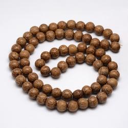 Natürliche Kokosperlen,coconutbrown,13x11 mm, Bohrung: 3 mm