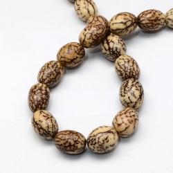 natürliche Bodhiperlen,burlywood,oval,13-15x11-12 mm,Bohrung:1-2 mm;