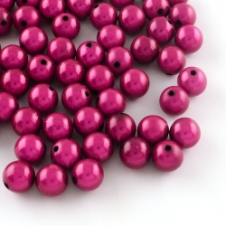 Miralce Beads magenta, 10 mm, Bohrung: 2 mm