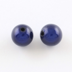 Miracle Beads mitternachtsblau, 10mm Bohrung 2mm