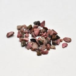 20 gr Natur rhodonite Chip-Perlen, kein Loch, 2~8x2~4 mm