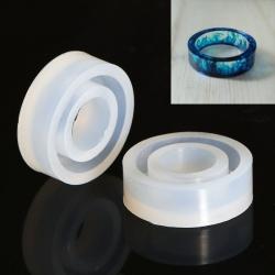 Silikon Giessform Ring, geeignet für Resin, Beton usw. innendurchmesser 17mm