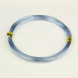 Aluminiumdrähte, Lightsteel, 1.0 mm; ca. 10 m / Rolle
