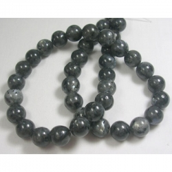 1 Strang Norwegisch Labradorit Perlen , 10 mm, Bohrung: 1 mm