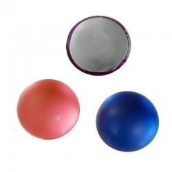 5 stk Acrylcabochon Rund- Flache Rückseite Farbenmix 10mm D