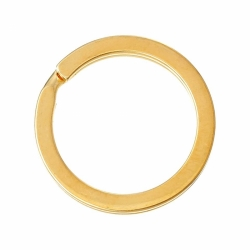 Schlüsselring Ring Vergoldet 25mm DM
