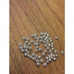 10 stk kl Metallzwischenperlen Doppelkegelform 5x3mm
