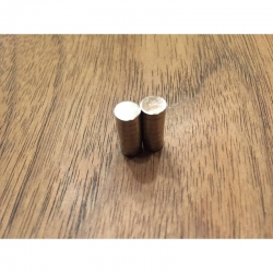 flachrunde Magnete 6x2mm
